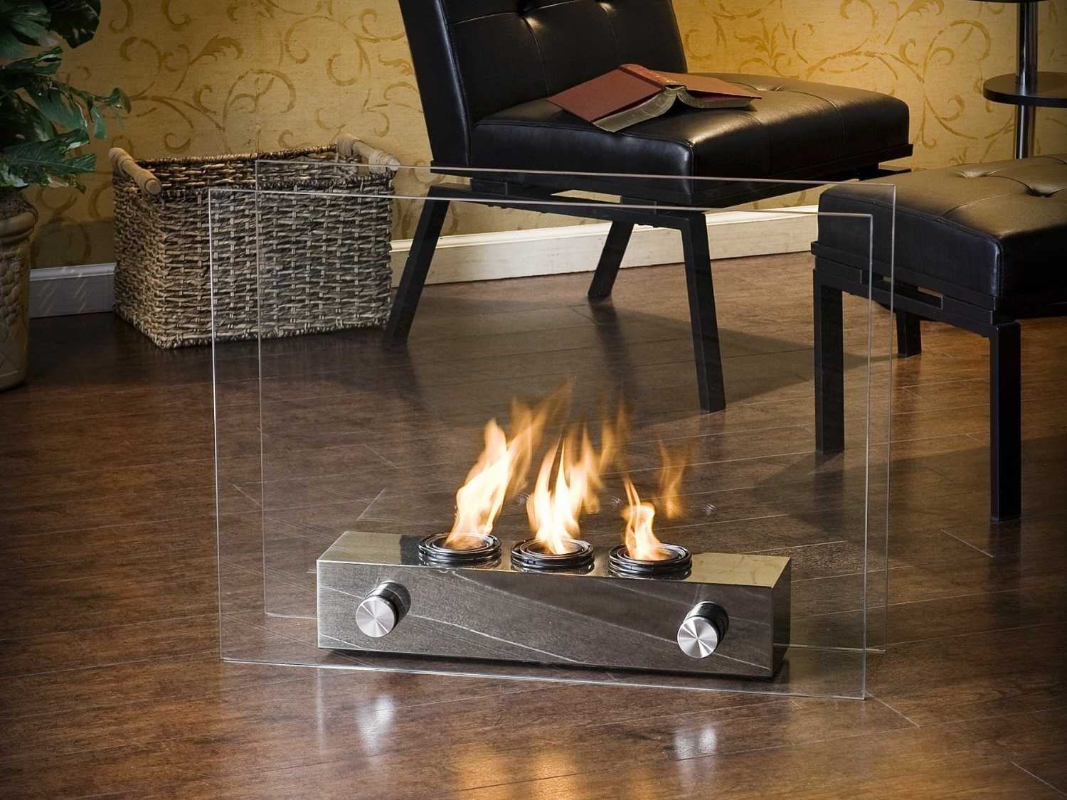 Portable Fireplace. Source: Business Insider.